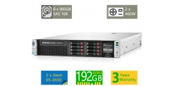 Refurbished HP Proliant DL380p Gen8 2U Server