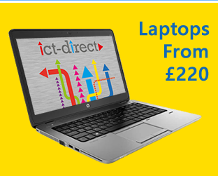 Refurbished business laptops from £220