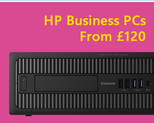 Refurb HP business desktop PCs fro £120