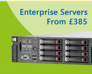 Refurbished enterprise servers with 3 years warranty